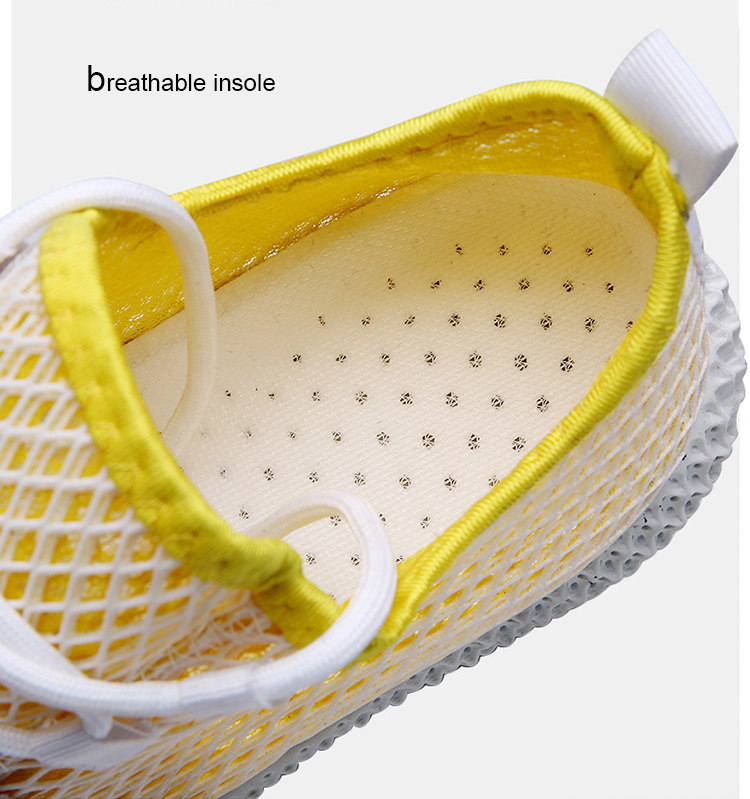 Factory Price Comfortable Lightweight Fashion Men Mesh Breathable Sports Shoes