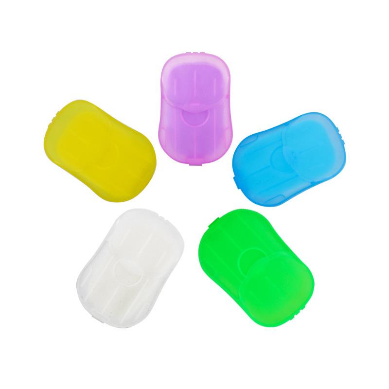 Colour Travel Disposable Detergent Hand Wash Sheets Paper Soap