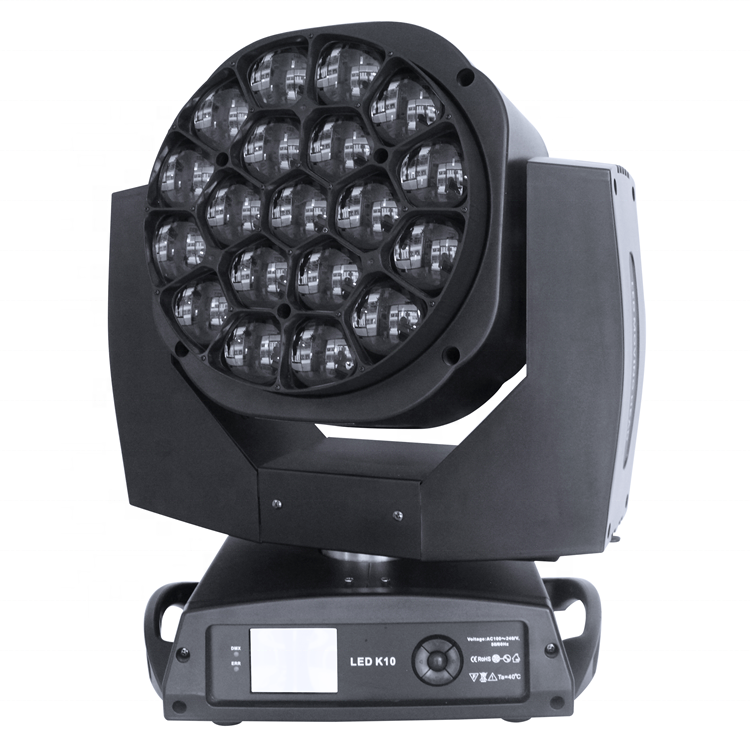 19x15 w Wash Fascio B ape Occhio k10 Led Moving Head Stage Light