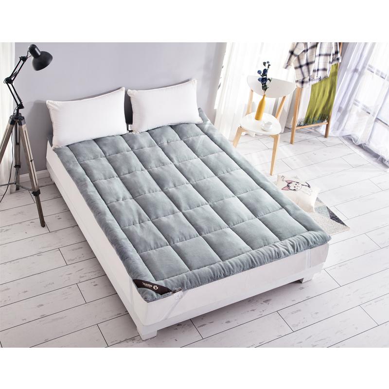 Hotel Hospital Standard Coral Fleece Waterproof bed Mattress pad Protector hypoallergenic