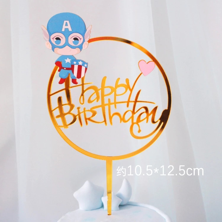 Best selling OEM quality fantastic cake topper wholesale