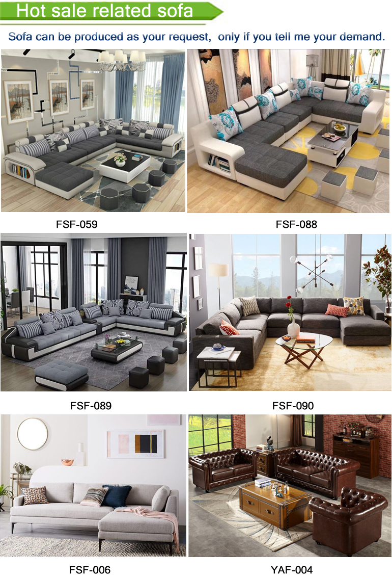 Luxury Cheer Bam Home Sleek Design Sale modern furniture 5 seater couch living room corner sofa set designs with price