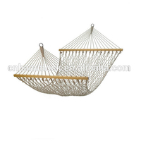 Camping net making rope hammock