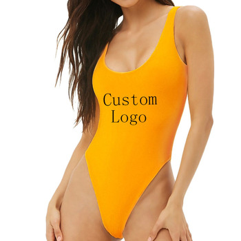 Custom Ladies Fashion Sexy Cotton Sleeveless Women Bodysuit