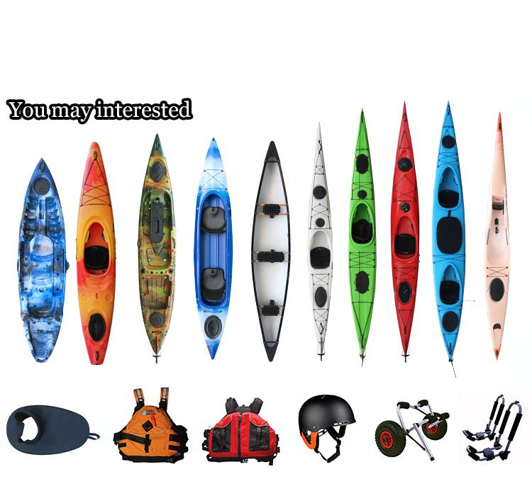 Hot sale EXPE16.5 plastic sea/ocean waterproof  hatch kayak for sale