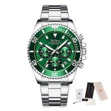 Модные Rolexable мужские часы лучший бренд класса люкс водонепроницаемые часы из нержавеющей стали Мужские кварцевые часы спортивные наручные ...(Китай)