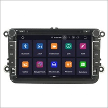 2 din 8 inch xe gps navigation android 9.0 universal car dvd player cho VW <span class=keywords><strong>Volkswagen</strong></span> B6/Exeo/ altea/Alhambra/Cupra Leon/Sagita