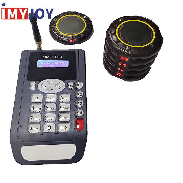 999 Channel 20 Call Coaster Pager Wireless queue manage System wireless pager calling system