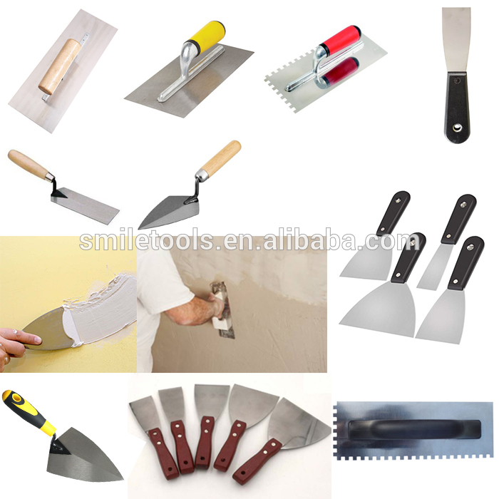 Smiletools Painting Tools Metal Scraper with Wood Handle