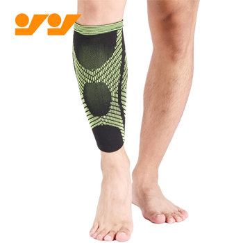 Breathable custom leg calf compression sleeves