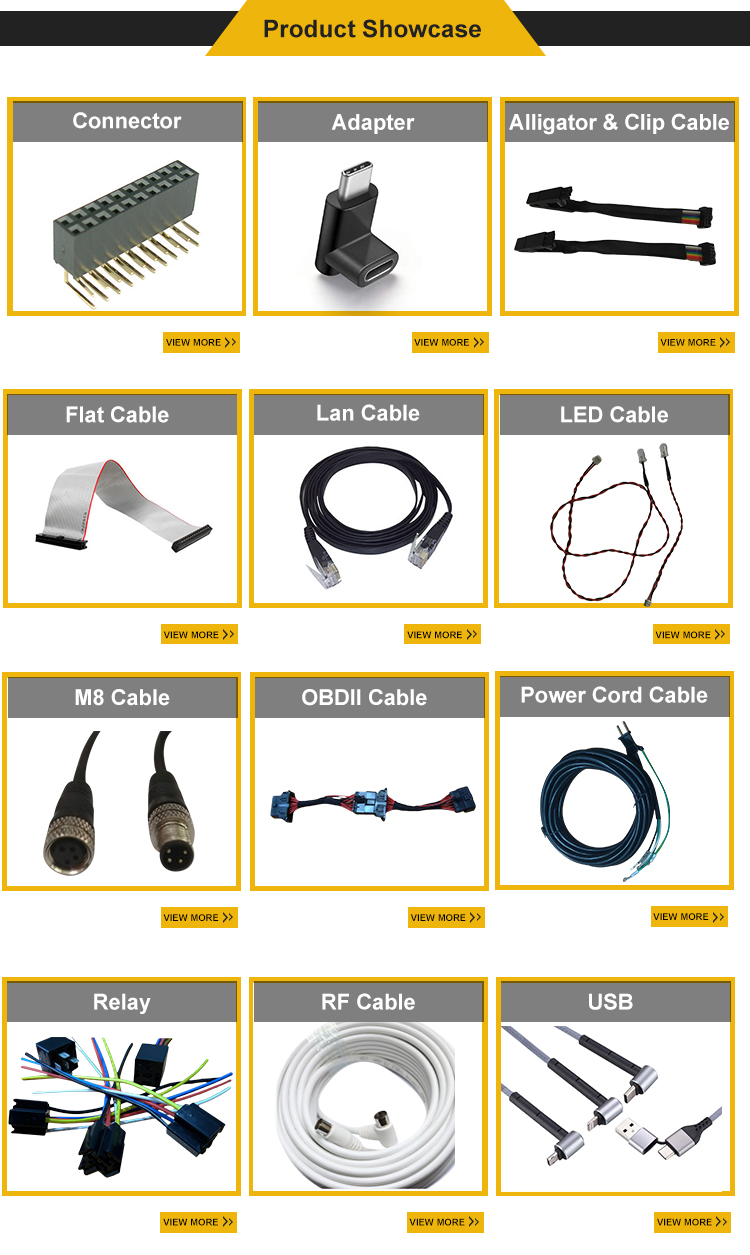 commonly used parts type-c assemblies usb power cable