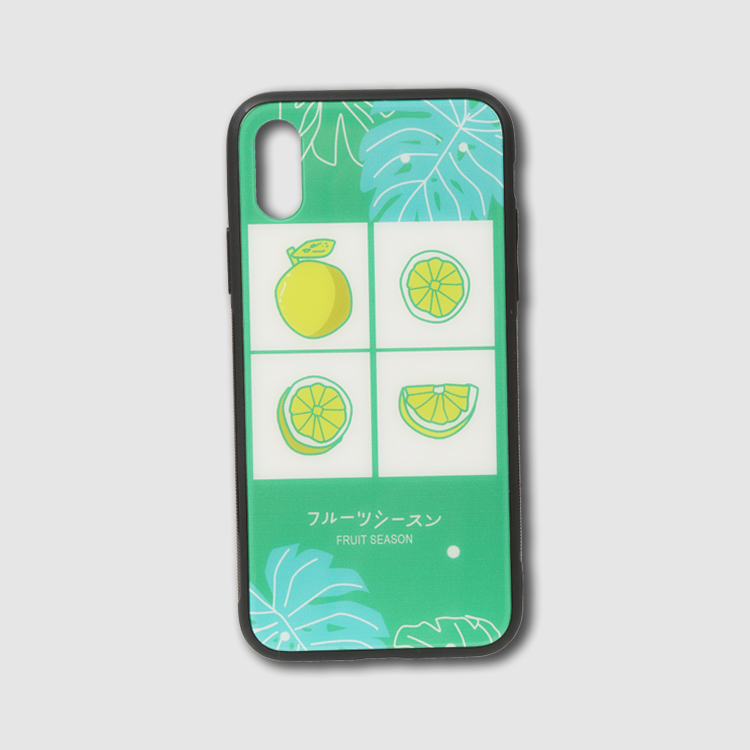 Custom Printed Pineapple Scratch Resistant Electroplated Glass Snap-on Case for vivo Z1 Pro iQOO Neo Z5x S1 Z3x Y17 Y15 Y12 X27