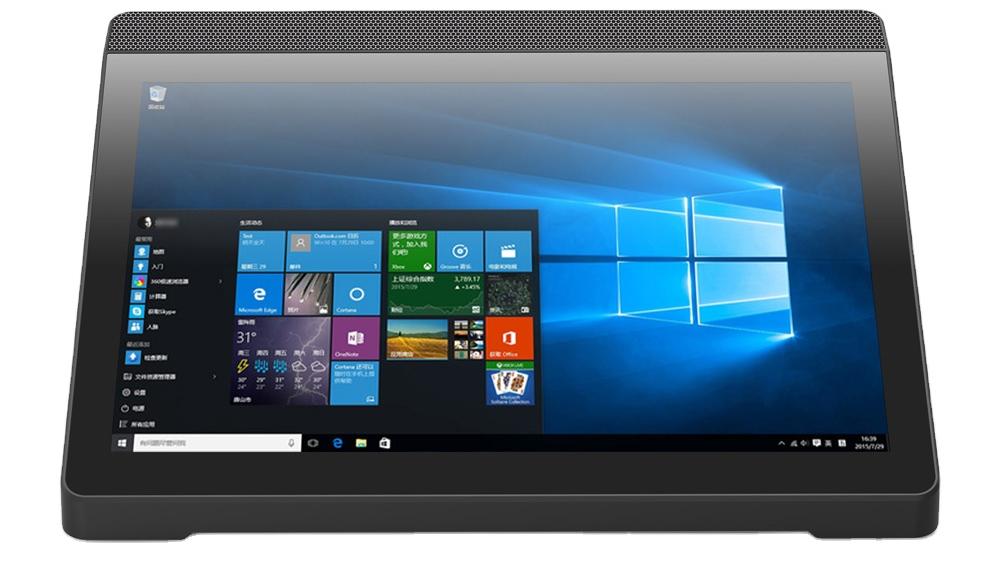 クアッドコア10.1インチposシステムタブレットwindows10ミニオールインワンpcボックスpcタッチスクリーンパネルpc