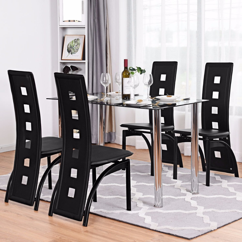 China Wholesale home furniture tempered glass square dinning table set  6/8/12 seater dining table and chairs dining room set