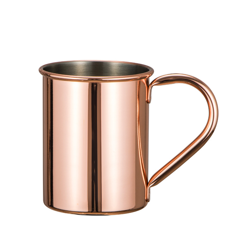 420ml New manufacturer moscow mule mug HOT 100% Pure Hammered Solid Copper Mugs