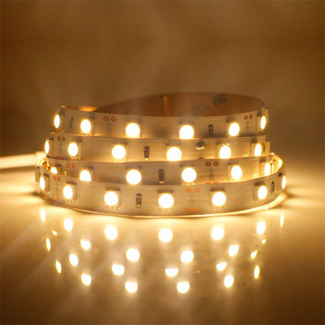 Cheap DC24V  5M/Roll 140Led/m  WW/NW/W High Bright SMD2835 Led Strip Light Flexible