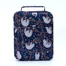 100/150 отверстия Kawaii чехол-карандаш для кошек портативная художественная авторучка пенал маркеры канцтовары сумка для хранения офисные прин...(Китай)