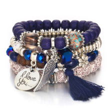 Mode kwastje charm bead <span class=keywords><strong>armband</strong></span> Voor Vrouw groothandel NS2018017