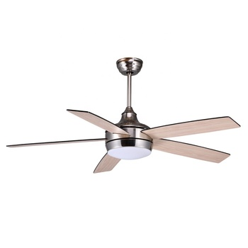 52 inch modern design 110v 220v ceiling exhaust air conditioning remote control luxury wood ceiling fan with light