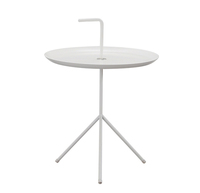 Fashion popular Modern Design Loft Metal Classic Steel Side table with handle