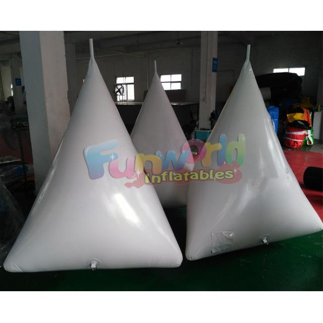 Bulb shape swim inflatable floating water buoy inflatable buoy