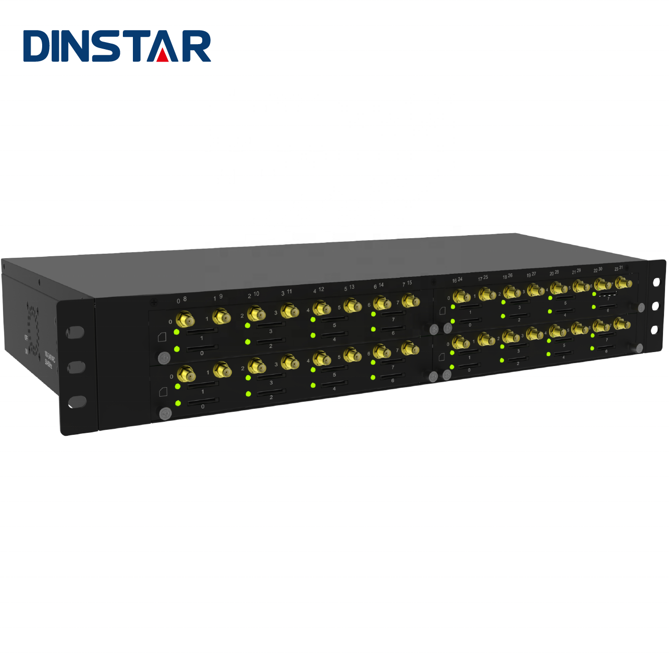 Dinstar Call Center SIM Box 3G 4G LTE 32 Port GSM Voip Gateway