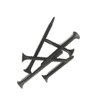 Black Phosphated Phil Bugle drywall screw