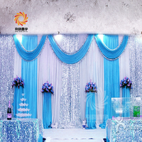 20*10ft Luxury Wedding and Event Supplies Sequin Drapes