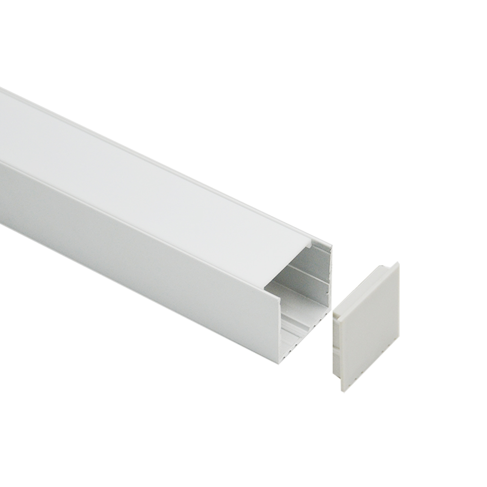High Power Factory  Wholesale square 35mm  led profile aluminum housing  for led strip solution