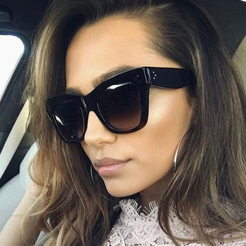 most popular For Woman fashion Sunglasses with custom logo Cat eye sunglasses