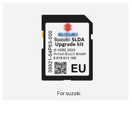 Scheda SD Suzuki SLDA Europe 2019
