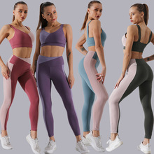 2020 Donne <span class=keywords><strong>di</strong></span> Estate della Molla Sportivo Multicolore <span class=keywords><strong>di</strong></span> <span class=keywords><strong>Yoga</strong></span> Del Reggiseno Sliming Ghette <span class=keywords><strong>di</strong></span> Sport <span class=keywords><strong>Set</strong></span>
