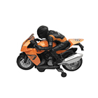 Battery Operated Simulation Motorcycle B/O Car Bump and Go Motor with Light and Sound