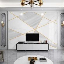 Современная Настенная 3D Бумага для гостиной, спальни, фона, шелковая ткань, геометрический узор, настенная бумага, нордическая(Китай)