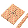 /product-detail/all-occasion-new-design-orange-plaid-gift-wrapping-paper-roll-for-gift-packaging-62297772768.html