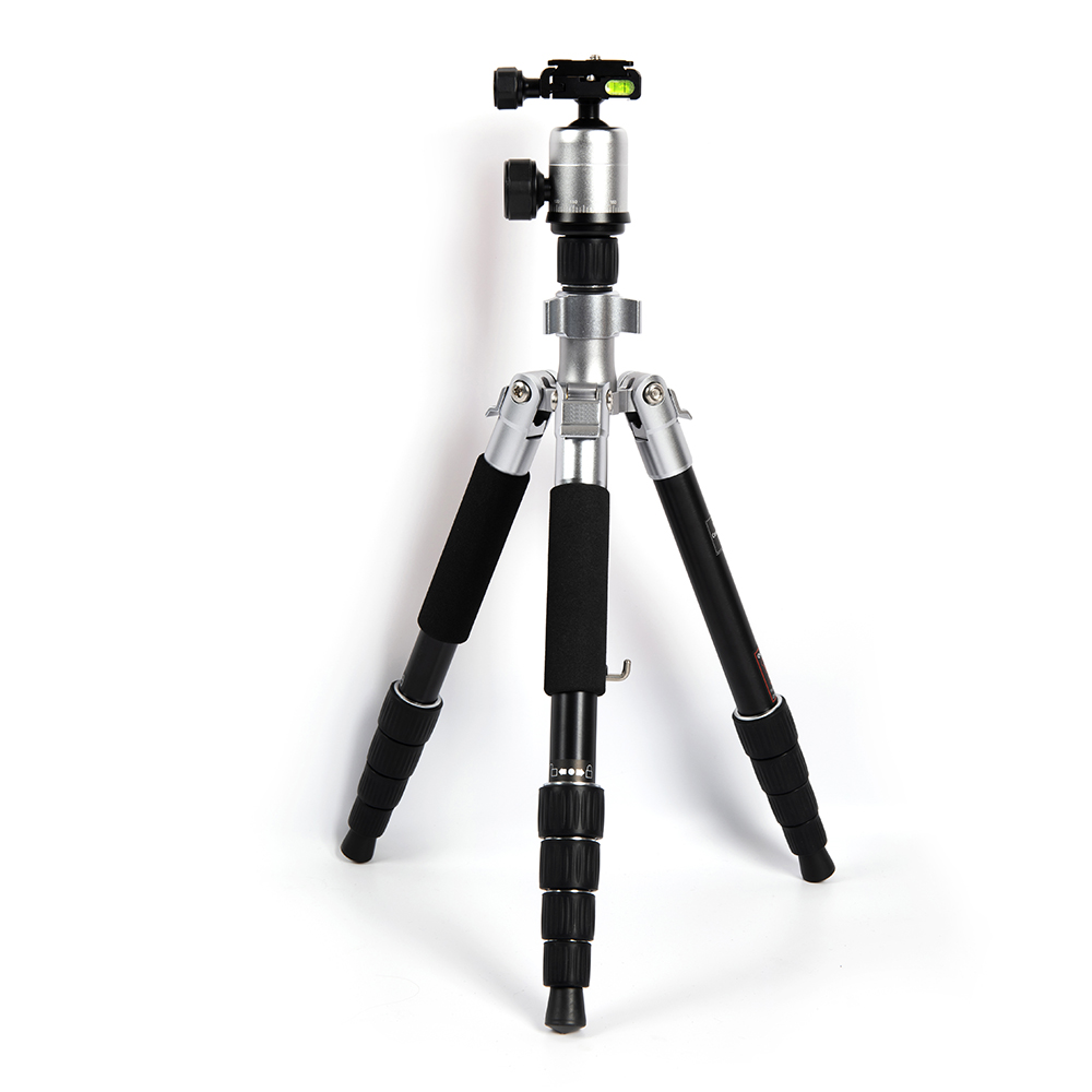 Sunrise New Aluminum Alloy Universal Portable Extendable Mobile Phone Camcorder Video DSLR Camera Compact Tripod Stand