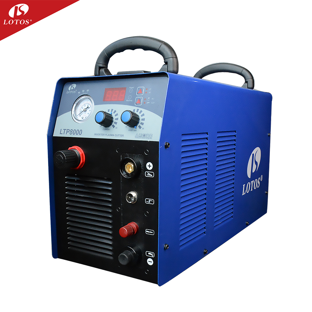 The Lotos LTP8000 cut80 Ideal CUT 25mm automatic portable plasma cutter machine equipment
