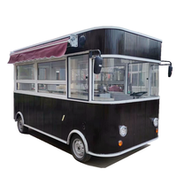 Cart food coffee truck  mobile food kiosk fast food truck for sale