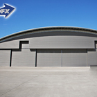 Industrial Structure Industrial Structure Industrial Sliding Door Steel Structure Aircraft Maintenance Shop Hangar