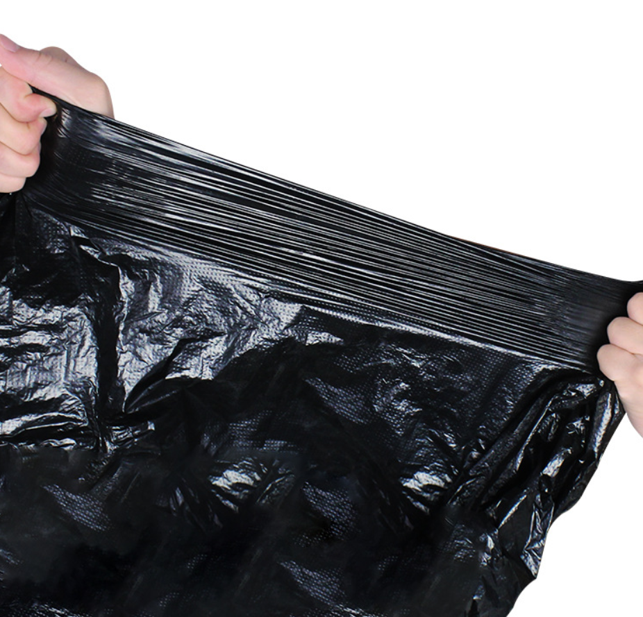 China made virgin 100% LDPE/HDPE colored plastic garbage bags