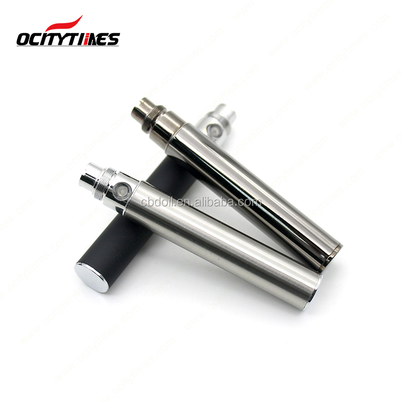 Hot selling Ocitytimes factory 510 thread ego battery with 650mah