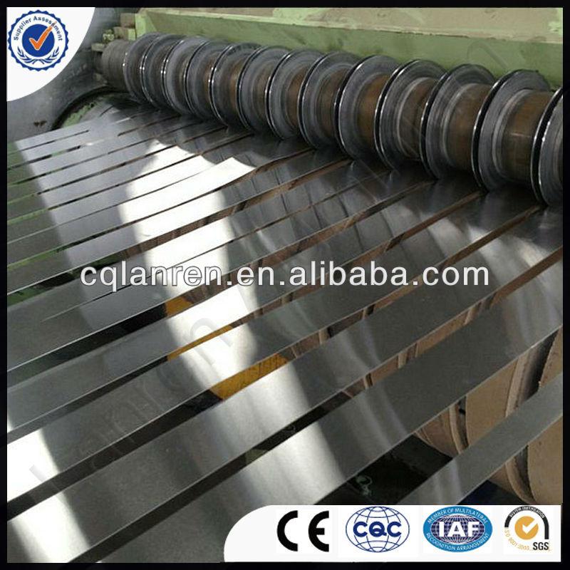 Aluminium strips for gutter