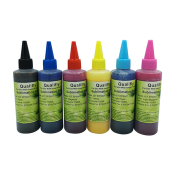 Multi Bright Colors Sublimation Ink Without Any Harmful Substances For Epson T50/T60/1390/1400/1410/