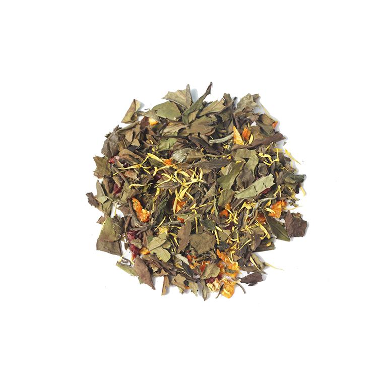 Chinese White Peony Tea Cranberry Kumquat Blending Chrysanthemum White Tea Flavored - 4uTea | 4uTea.com