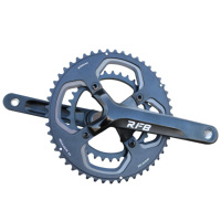 Customize road bike/bicycle Crankset More Comfortable Hollow axle Laser Logo 10/11s 34/44t 155mm road bike/bicycle Crankset