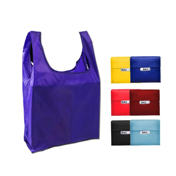 Collapsible Foldable Grocery Bag Shopping Tote Bag, Reusable Shopping Bags with Handy Side Handle
