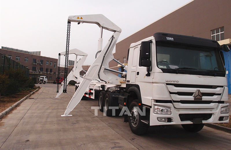 container loader container load trailer container side loader trailer for sale
