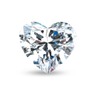Heart Gemstone Cut Heart Cut Moissanite Gemstone Prices For Wedding Jewelry Sets