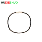 Wholesale simple black zirconium bracelet chic Korean jewelry female personality girlfriends sister chain bangles