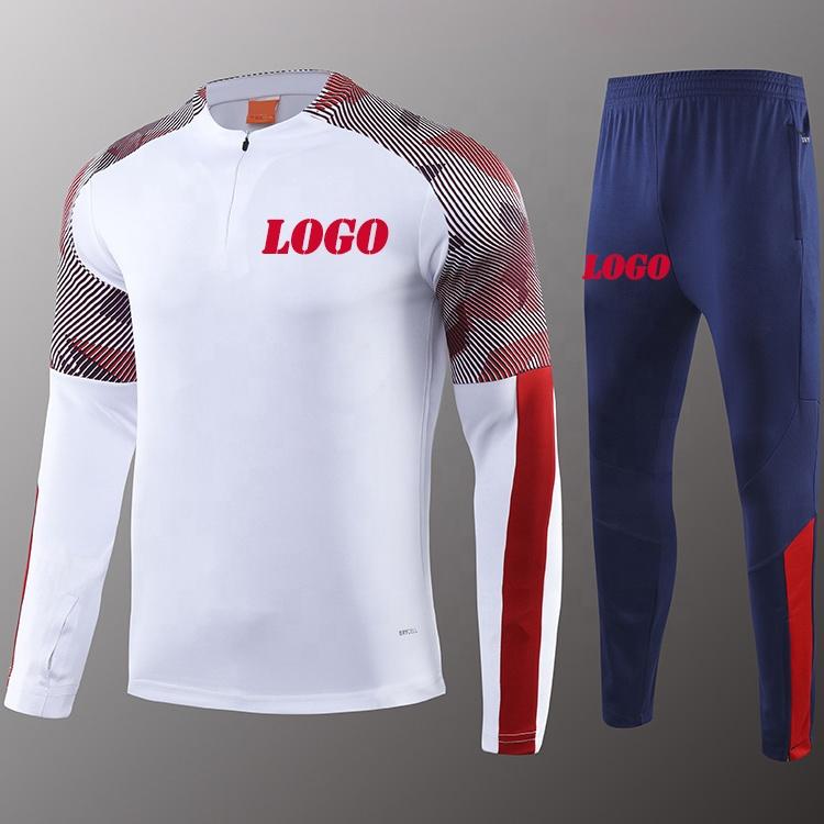 2019 20タイ品質サッカージャケットchivasサッカーユニフォームセットメキシコサッカートレーニングトラックスーツロゴ付き
